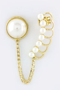 Image of Ultimate Pearl Cuff Earrings