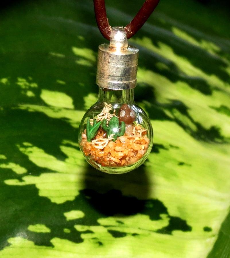 Image of Miniature Desert Necklace, Southwest Necklace