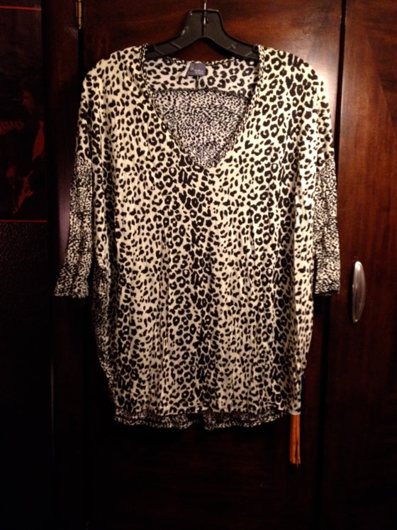 Image of leopard shirt