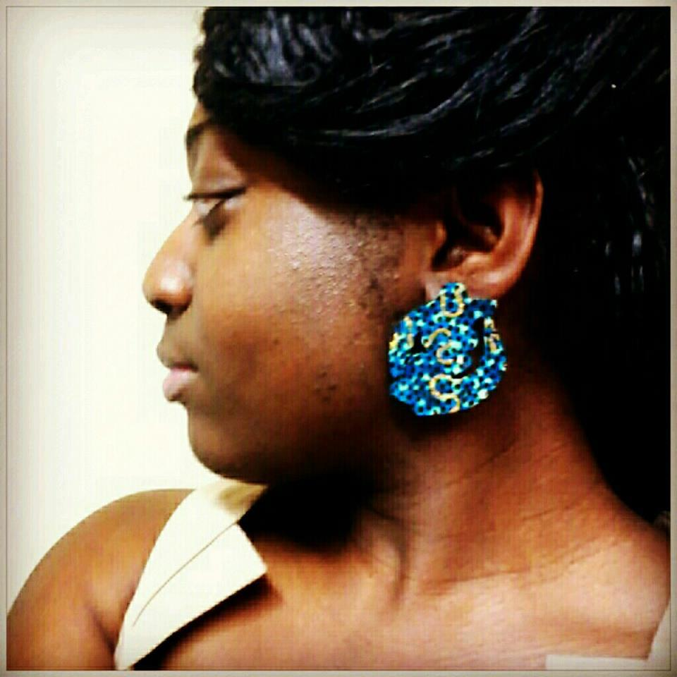 Image of Vekras Gye Nyame Earrings