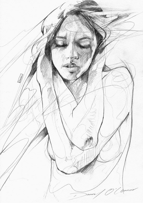 "Image of ""Figure Sketch"" OPEN EDT PRINT - FREE WORLDWIDE SHIPPING"