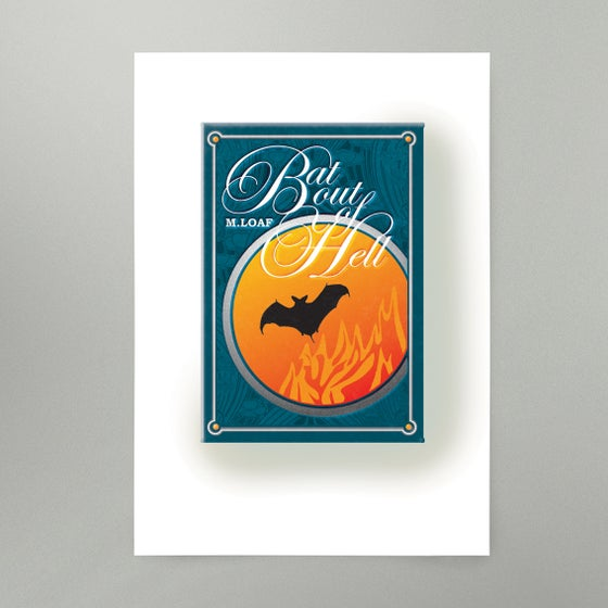 Image of Bat Out Of Hell Art Print