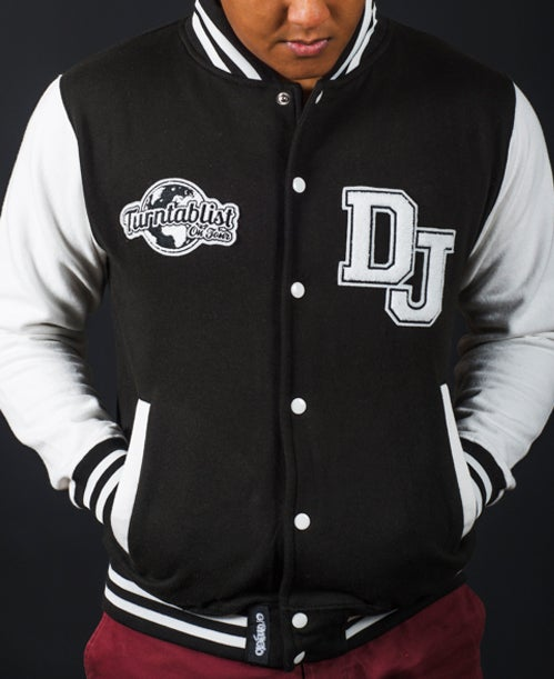 Image of TURNTABLIST ON TOUR <br>Varsity Jacket<br><i> by DJ Angelo</i>
