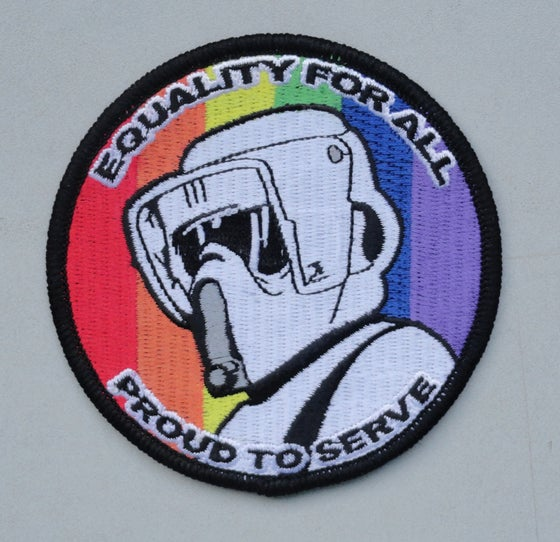 Image of Equality - Biker Scout Patch 3.5""