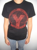 Image of Black/ Red Logo T