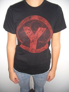 Image of Black/ Red Logo T