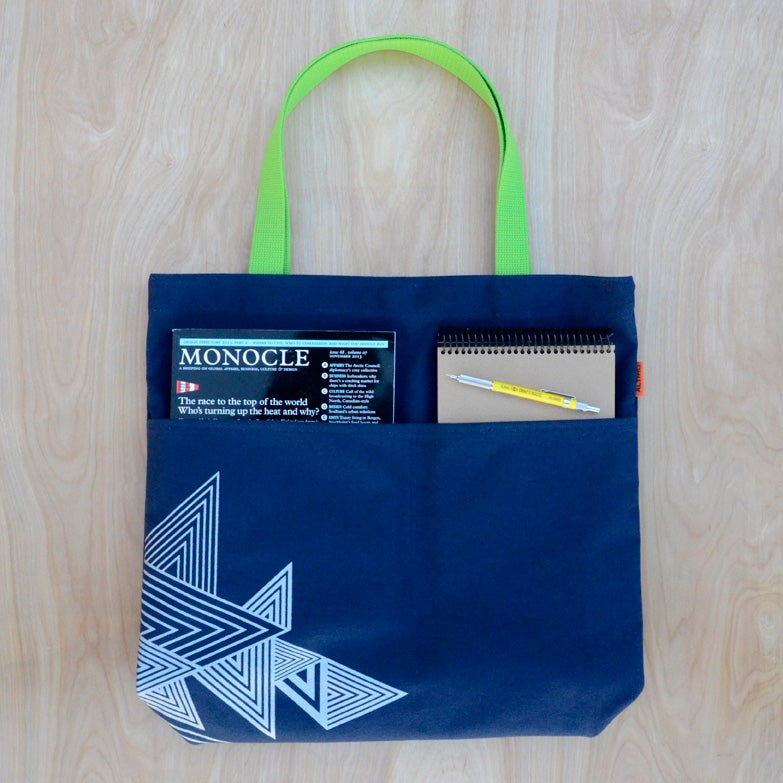 Image of Triangles utility bag | Color options