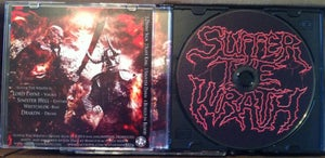 Image of Suffer The Wrath - Divine Sign CD with 2 FREE Vinyl Stickers