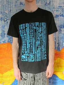 Image of Pok Glyph T-Shirt Black