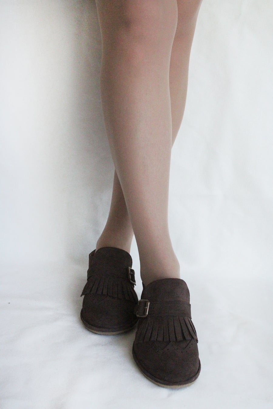 Image of Wingtip Brogues - Fringed in Witty Brown