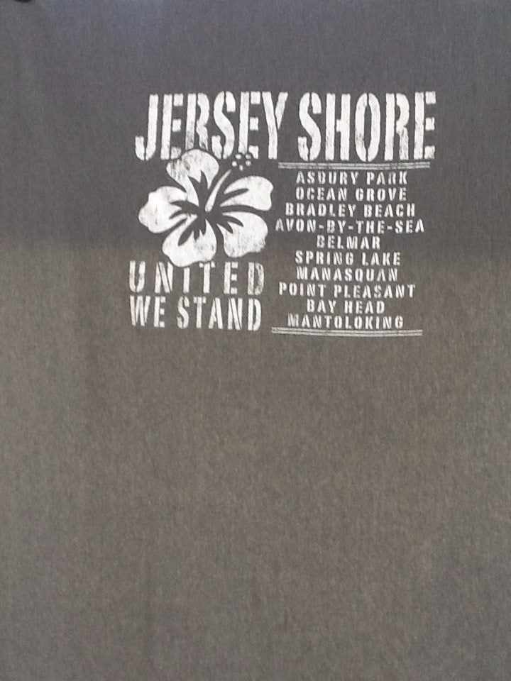 Image of Jersey Shore Blanket with Shore Towns
