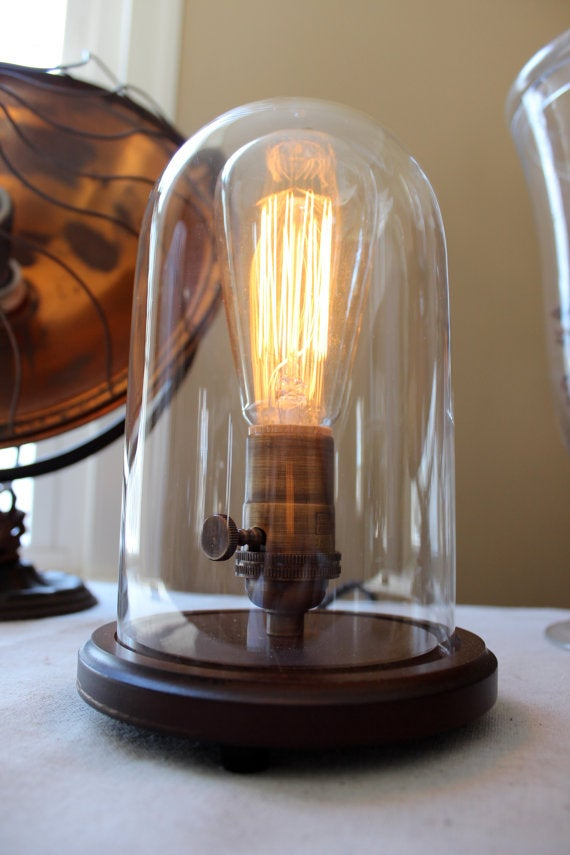 Image of Bell Jar Table Lamp - Small