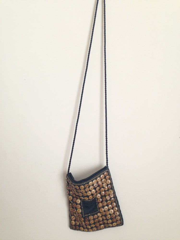 Image of Button Shoulder Purse