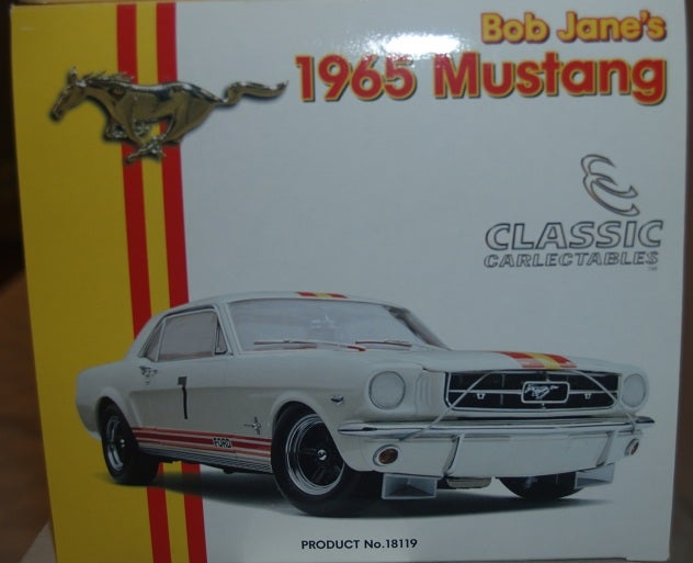 Image of Bob JANE's 1965 Ford Mustang. #7. BRAND NEW.