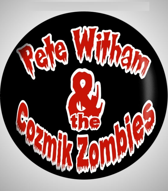 Image of Pete Witham & The Cozmik Zombies Button