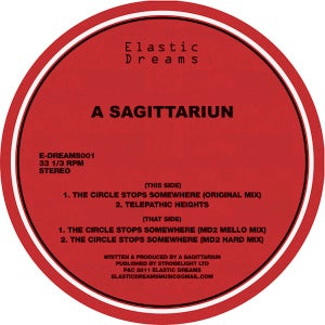 Image of A Sagittariun -The Circle Stops Somewhere EP 12""