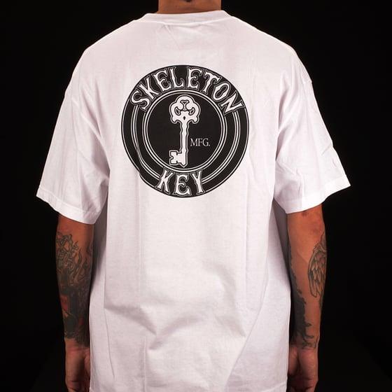 Image of Black Dot S/S White T-Shirt
