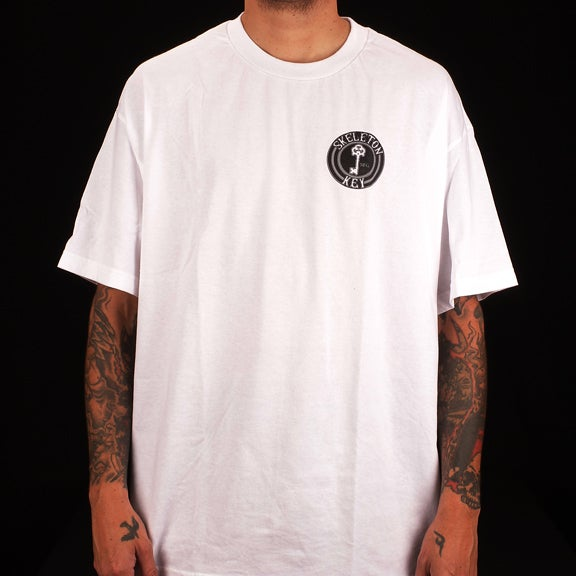 Image of Black Dot S/S White T-Shirt