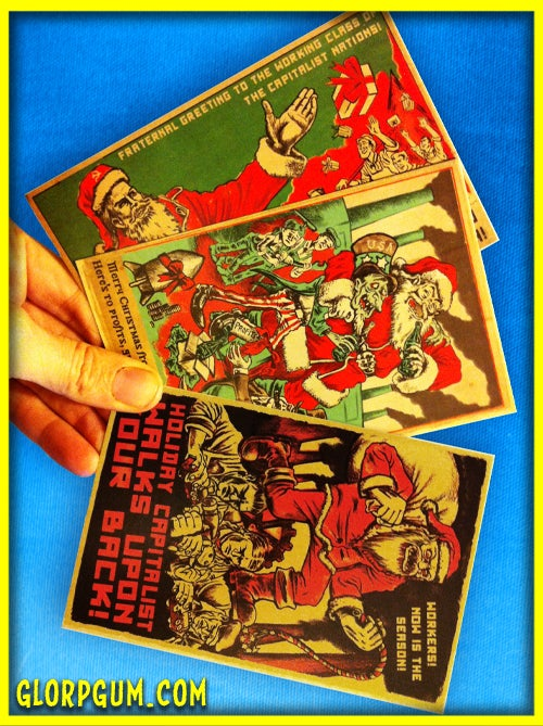 Image of Soviet Holiday Card Variety Pack