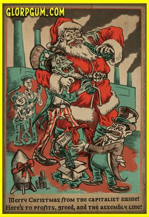 Christmas Swine Holiday Cards