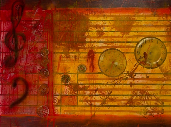 Image of Grieving Banner – Archival Lithograph