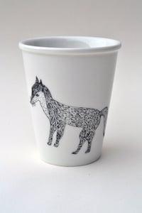 "Image de Gobelet en porcelaine ""Renard"""