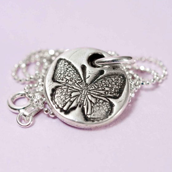 Image of Butterfly Pendant