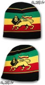 Image of IRIE NATION RADIO Lion Of Judah beenie.