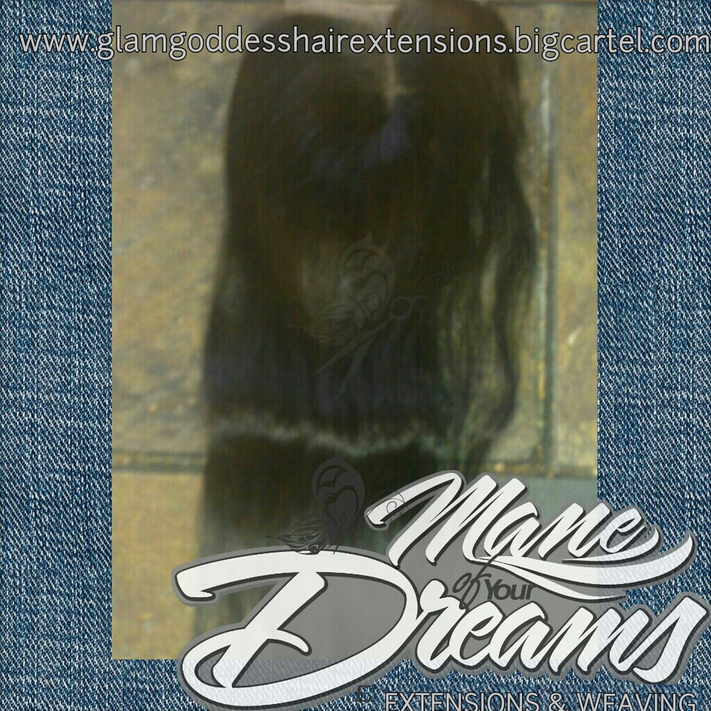 Image of 2.5x4 Virgin Brazilian Straight Lace Closure