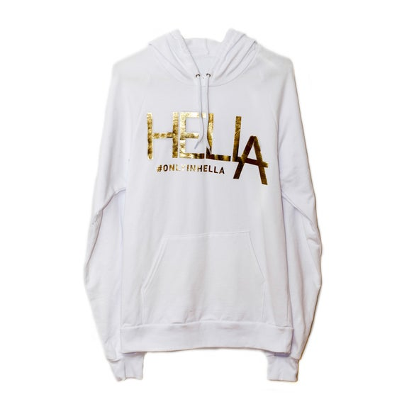 Image of White HelLA Sweatshirt