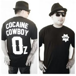 Image of The Cocaine Cowboy Tee in Black