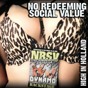 "Image of NO REDEEMING SOCIAL VALUE ""High In Holland"" CD"