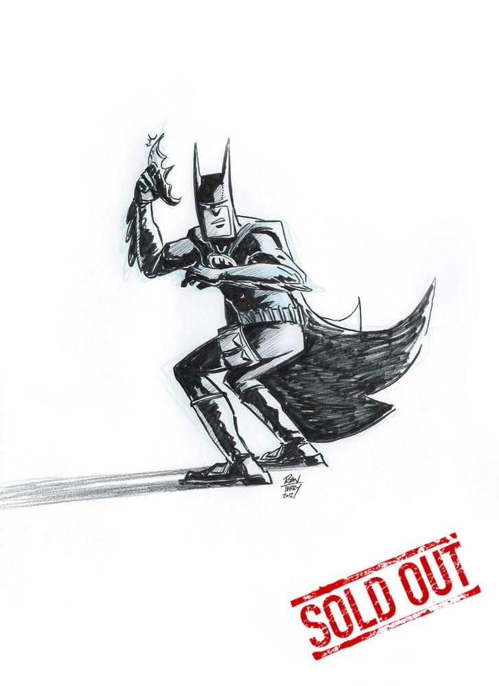 Image of Batman (original ink artwork)