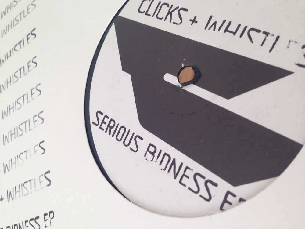 "Image of 12"" Vinyl - EMB013 - Clicks & Whistles - Serious Bidness EP"