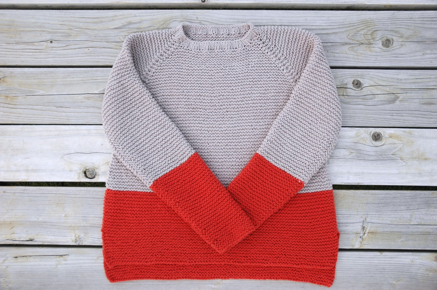 Image of Plowline Raglan Sweater Pattern (PDF)