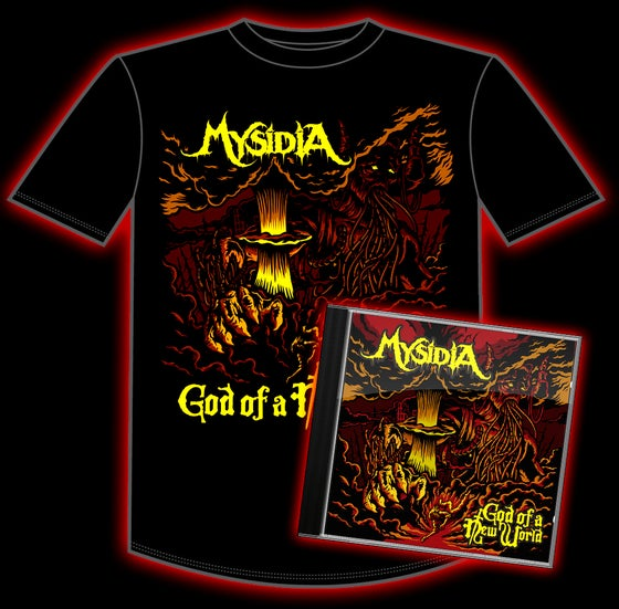 "Image of ""God of a New World"" Shirt and CD Bundle"