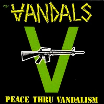 "Image of The Vandals: ""Peace Through Vandalism"" CD"