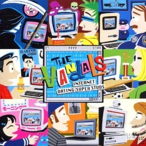 "Image of The Vandals: ""Internet Dating Superstuds"" CD"