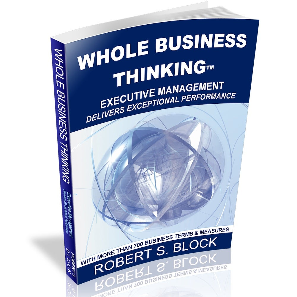Image of  Whole Business Thinking (Book)