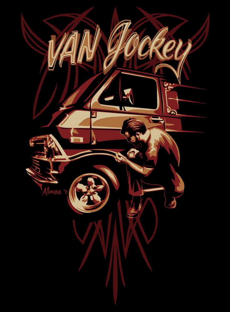 Image of Van Jockey - Pinstriper shirt