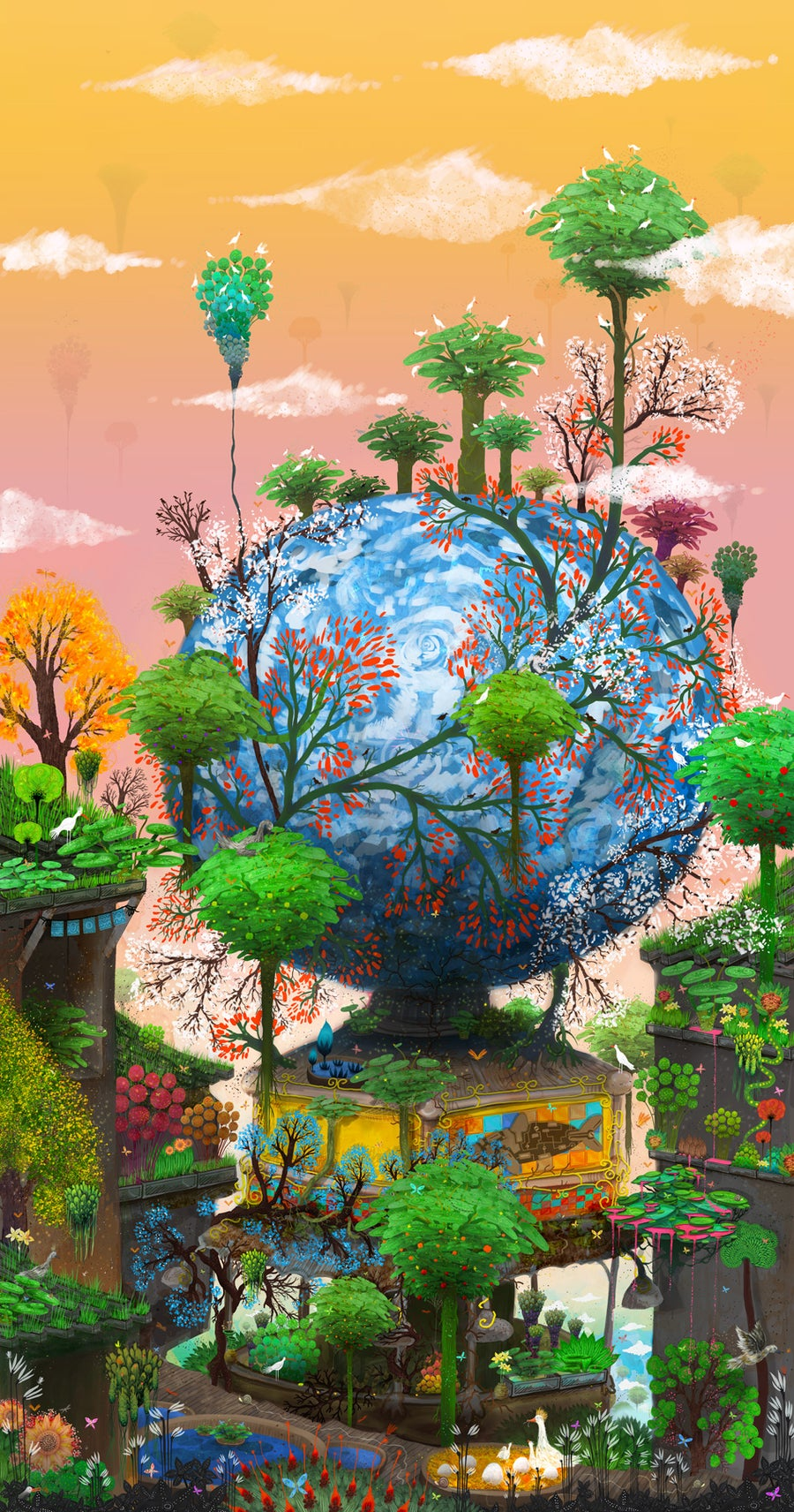 Image of The Sun Globe Aquarium