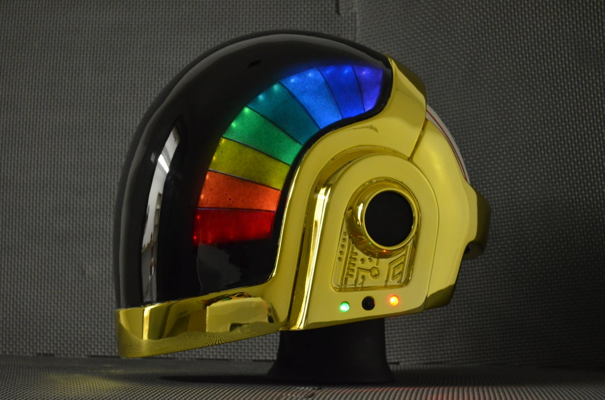 Daft Punk Motorcycle Helmet For Sale | BCCA