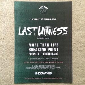 Image of 'Final Show' A3 300gsm Matt Poster Print Ltd 100
