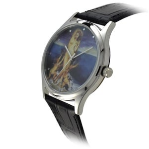 Image of Paintings sensual artistic features dial quartz watch (WAT0081)