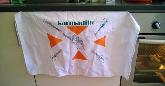 Image of Karmadillo Teatowel