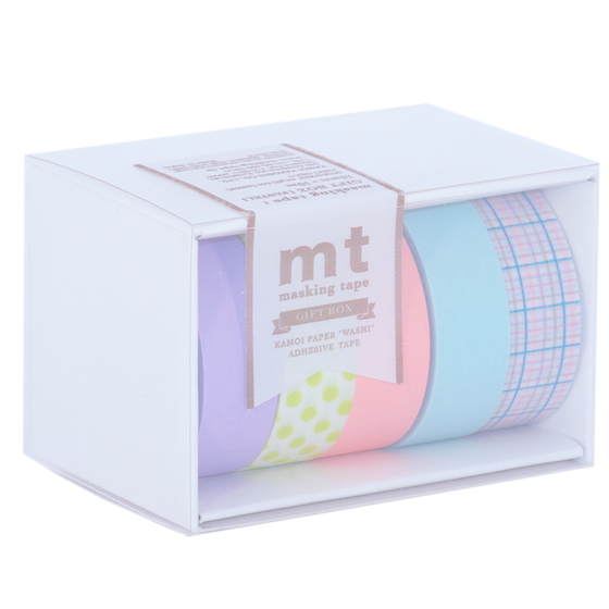 Image of MT Washi Tape - Pastel Gift Box