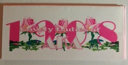 Image of Alpha Kappa Alpha (AKA) Greeting Cards