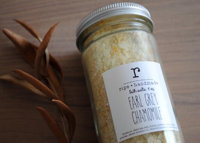 Image of Earl Grey Chamomile Sea Salt Tea Bath