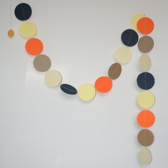 Image of N.Y. Style Circle Paper Garland (SALE 30%)