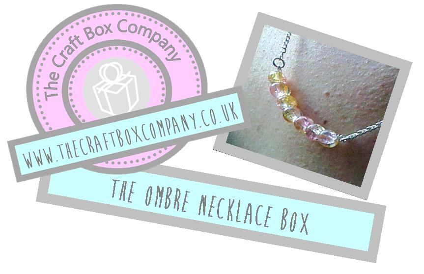 Image of The Ombre Necklace Box